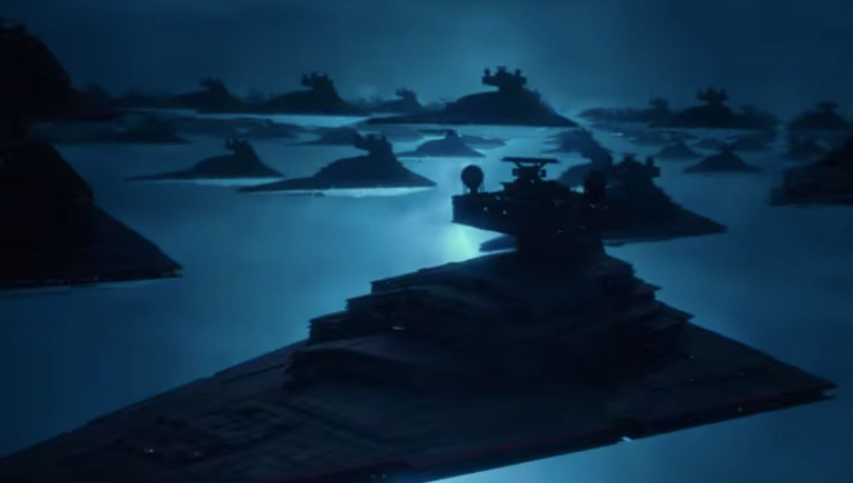Sith fleet Rise of Skywalker