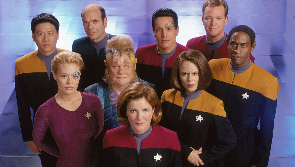 Star Trek Voyager hero