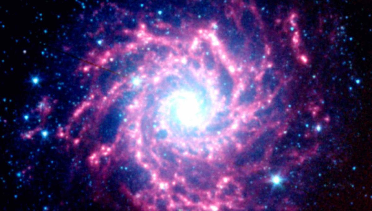 NASA image of a supernova