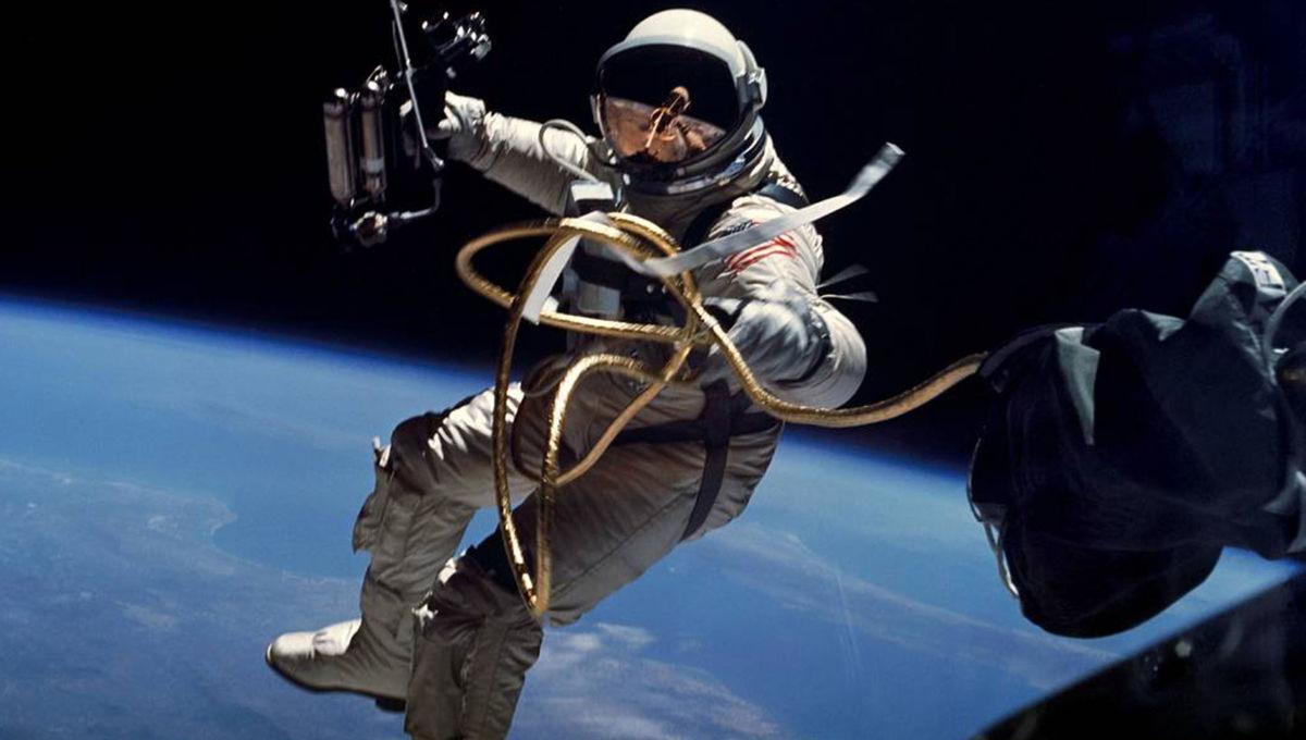 NASA image of an astronaut