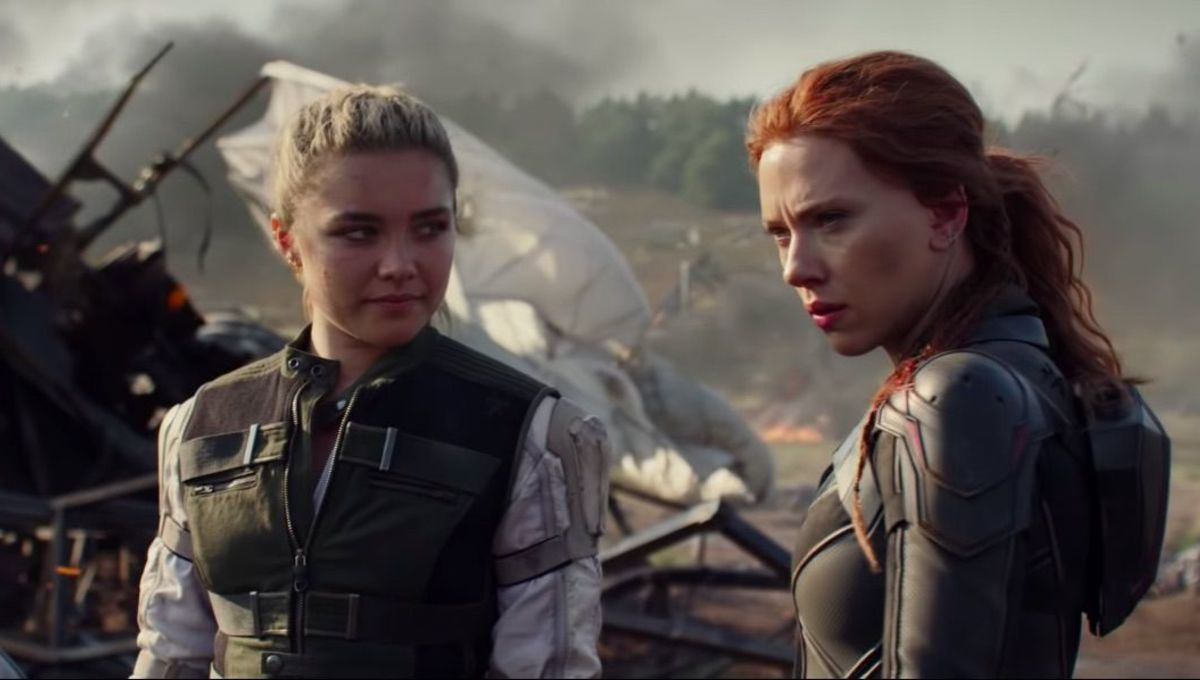 Scarlett Johansson's Marvel Baton Being Handed To Florence Pugh in 'Black Widow'