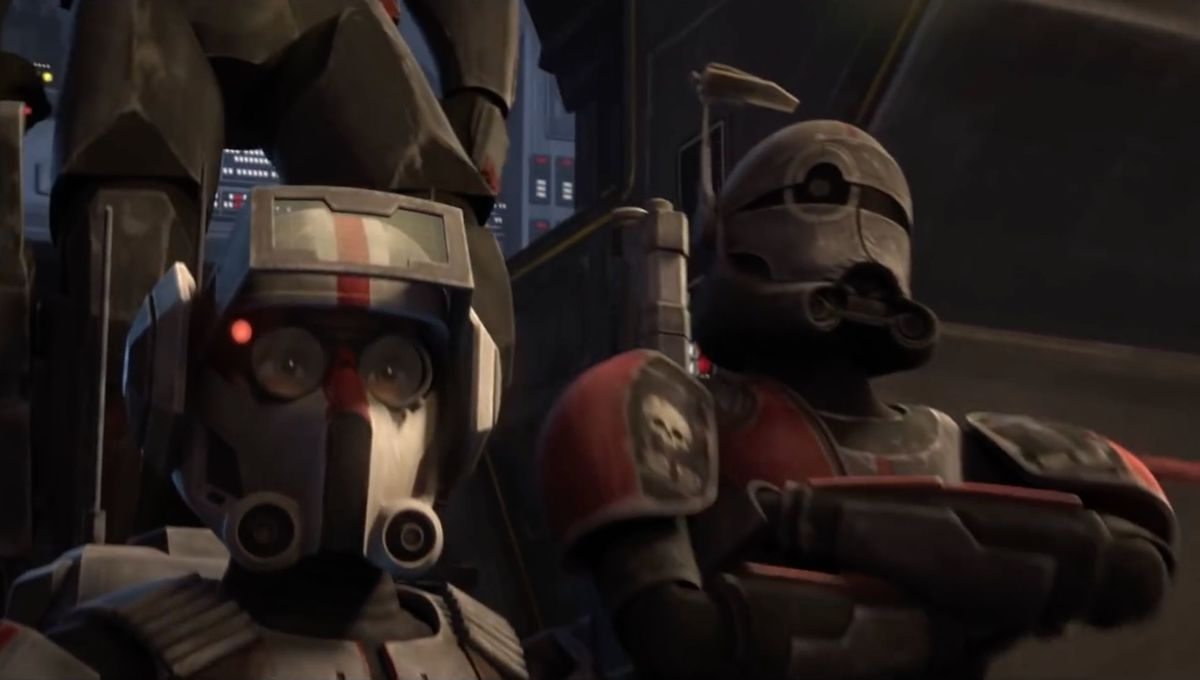 Star Wars: The Clone Wars (Tech and Crosshair)