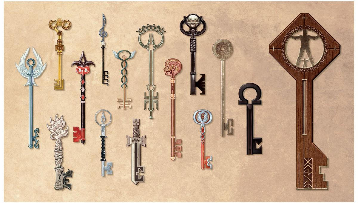 Locke and Key keys