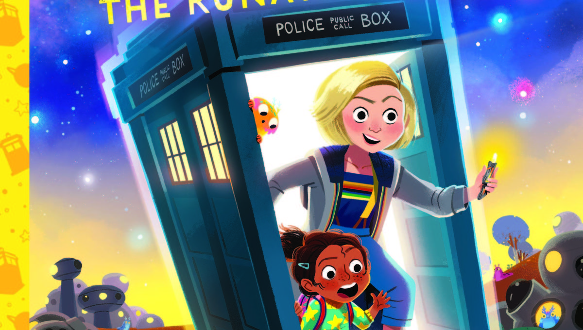 Doctor Who The Runaway TARDIS cover