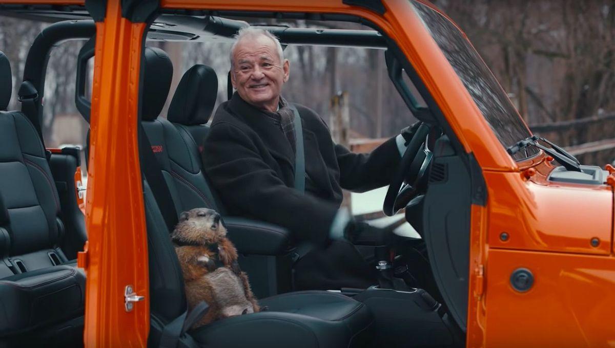 Groundhog Day Super Bowl ad
