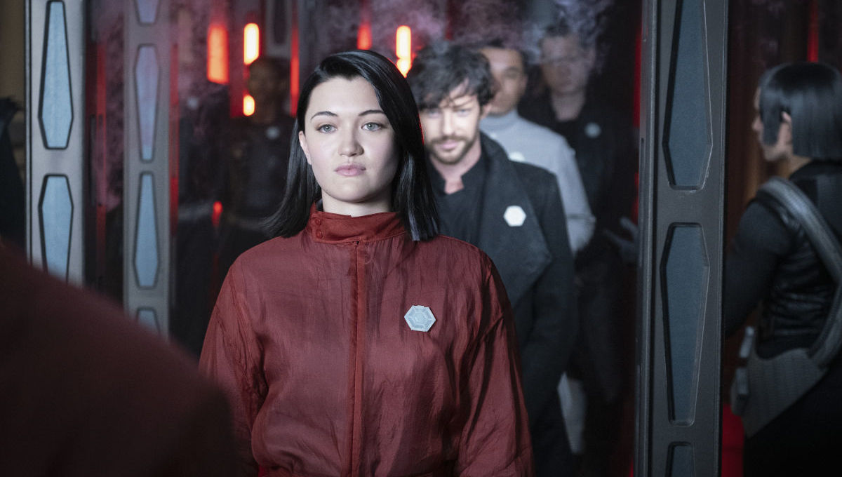 Isa Briones in Star Trek Picard
