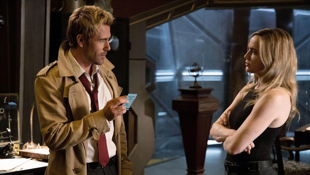 Legends of Tomorrow Constantine and Sara