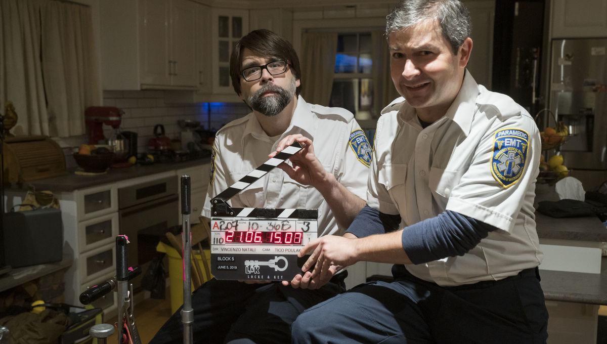 Joe Hill and Gabriel Rodriguez in Locke & Key