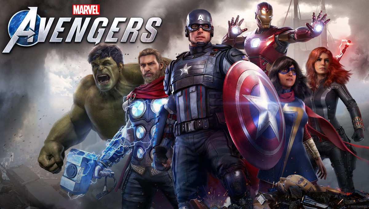 The characters of the Marvel's Avengers video game
