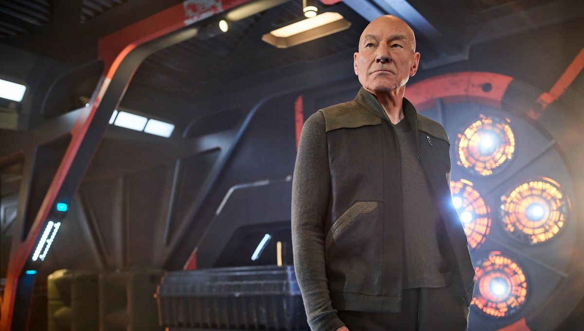 Patrick Stewart as Jean Luc Picard in Star Trek Picard