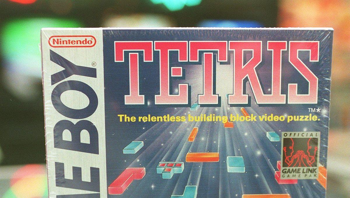 Tetris for the original Nintendo Game Boy