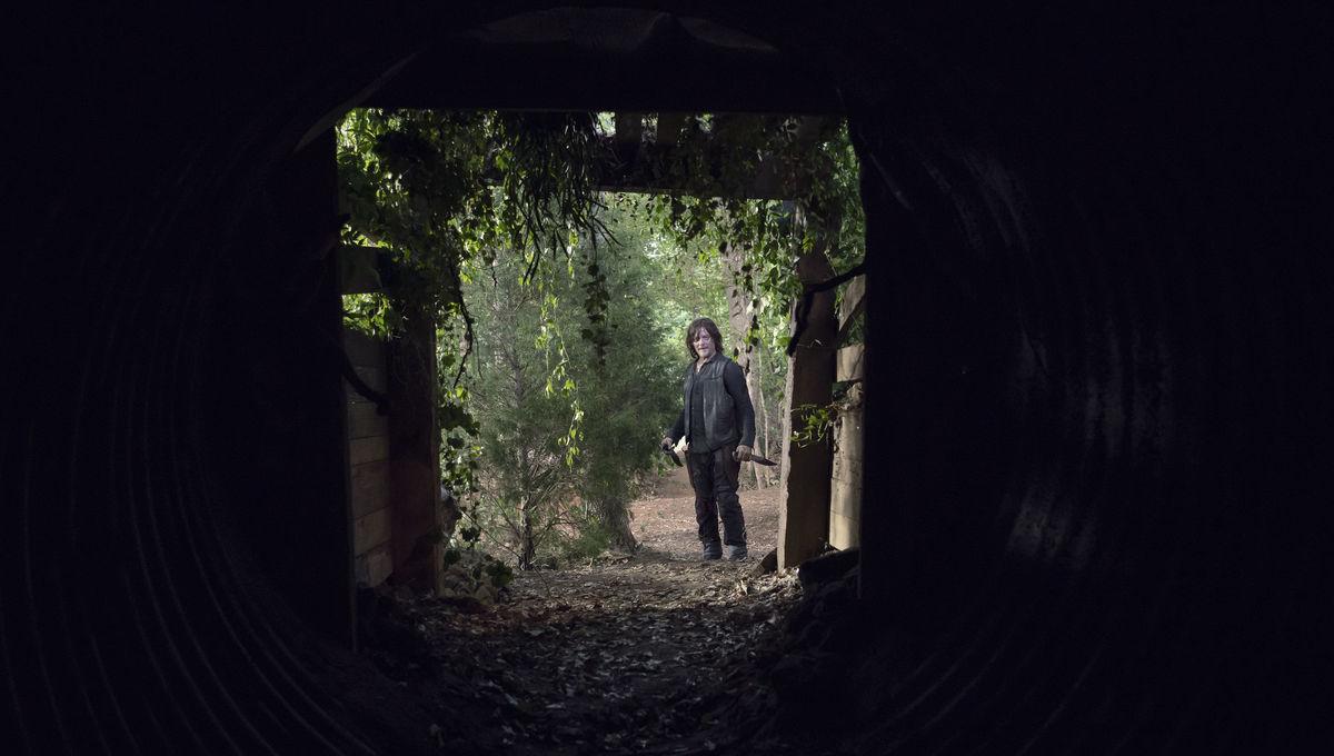 The Walking Dead Daryl dark space
