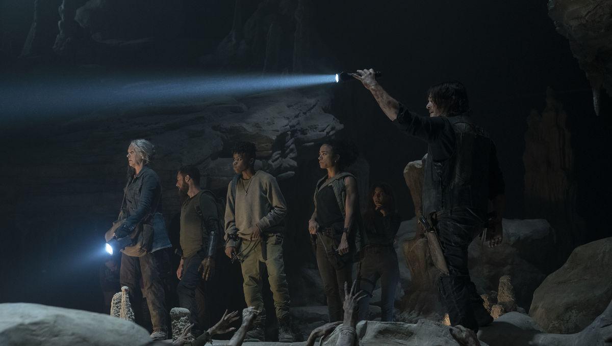 The Walking Dead Season 10 cave