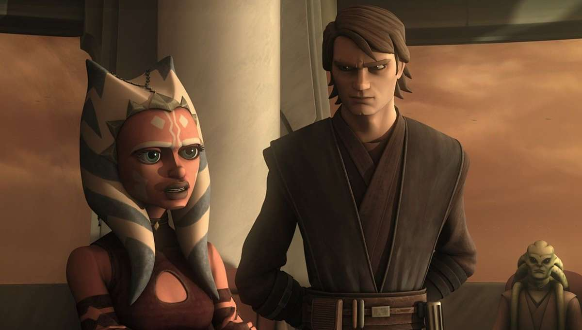 Anakin and Ahsoka Star Wars The Clone Wars