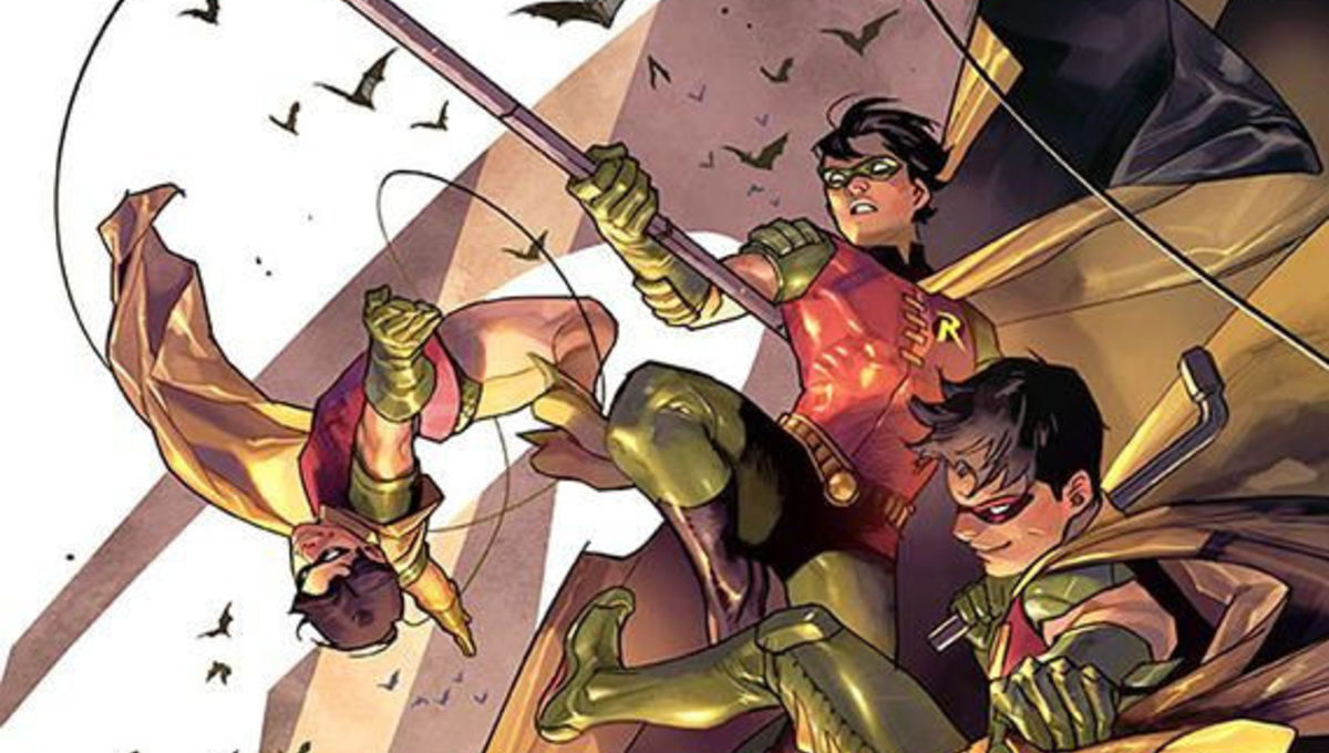 Robin 80th Anniversary 100-Page Super Spectacular #1 - 2010s variant cover by Yasmine Putri