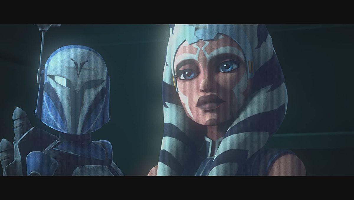 Ahsoka in Star Wars The Clone Wars