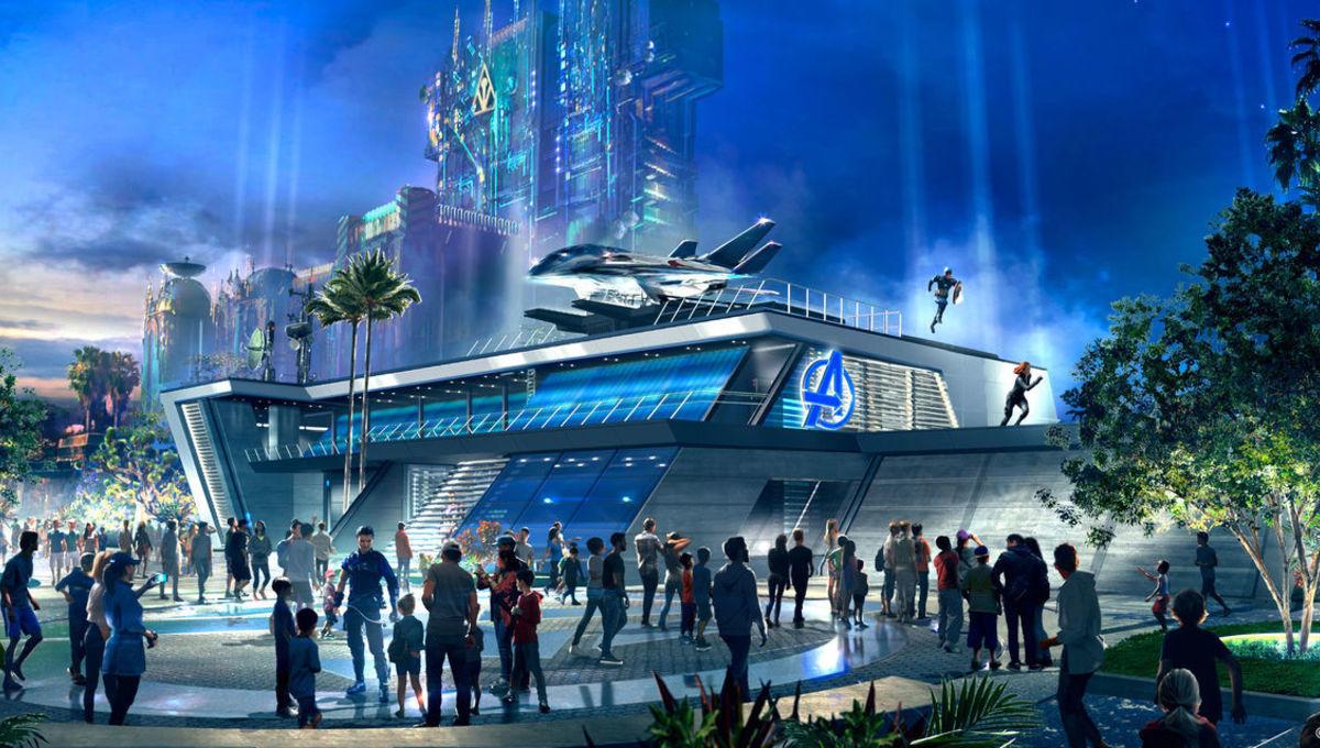 Avengers Headquarters building
