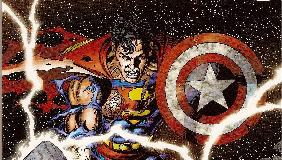 Avengers JLA cover