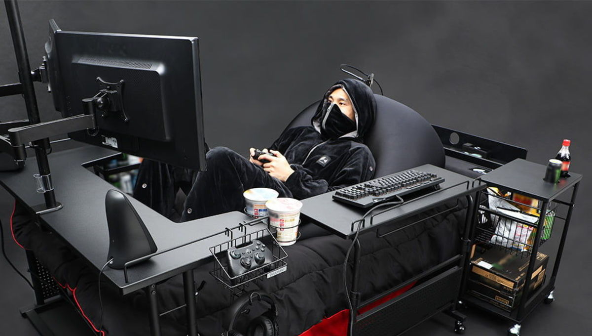 The Bauhutte Gaming Bed