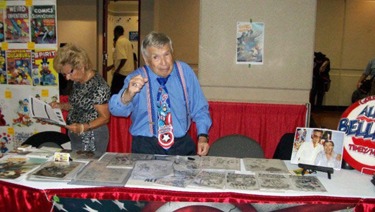 Comics Artist Allen Bellman