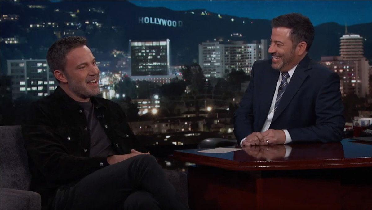 Ben Affleck Jimmy Kimmel 2020
