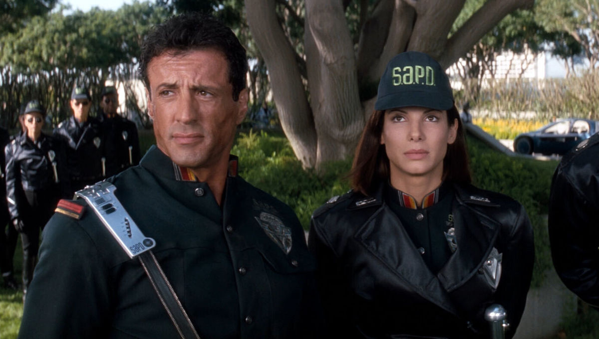 Demolition Man: Sylvester Stallone and Sandra Bullock