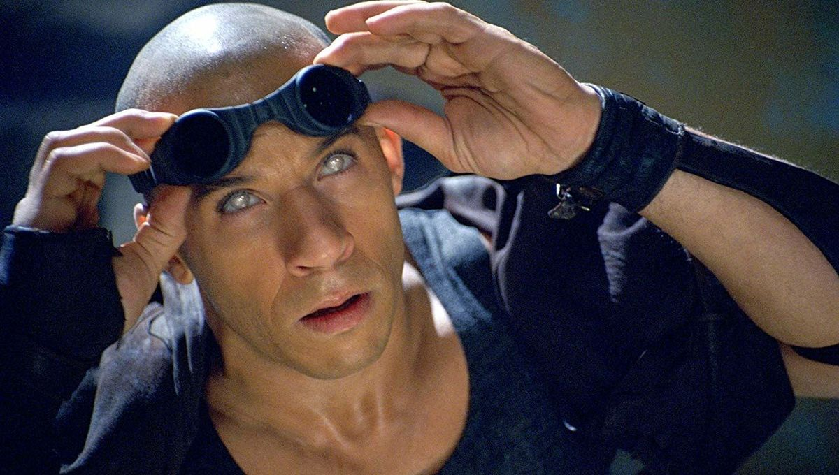 Vin Diesel in The Chronicles of Riddick