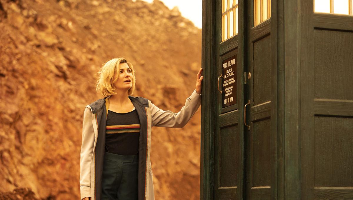 Jodie Whittaker in Doctor Who Season 12 Episode 10
