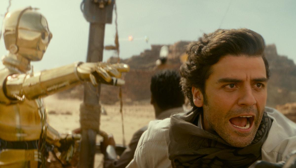 Poe Dameron Oscar Isaac Star Wars The Rise of Skywalker