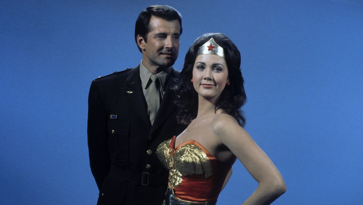 Lyle Waggoner Lynda Carter Wonder Woman