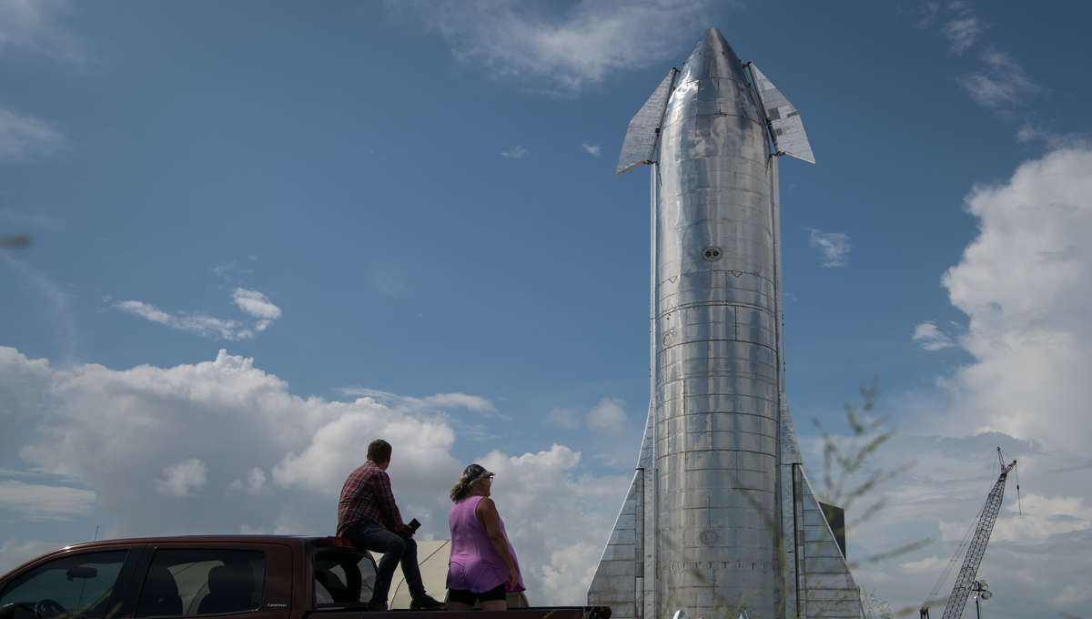 SpaceX's Starship prototype