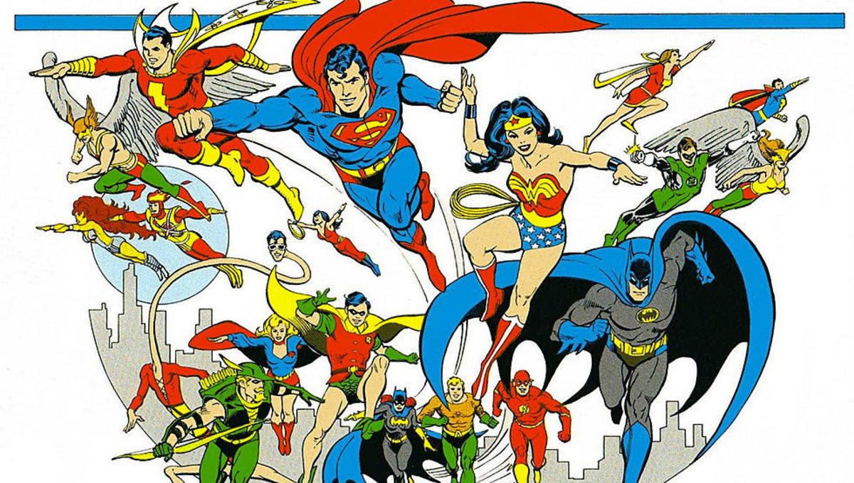 Justice League by artist Jose Luis Garcia-Lopez