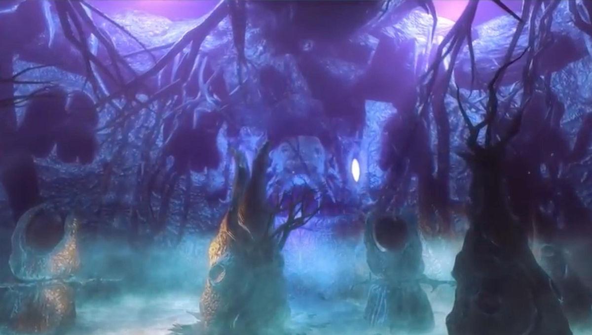 Lovecraftian hellscape