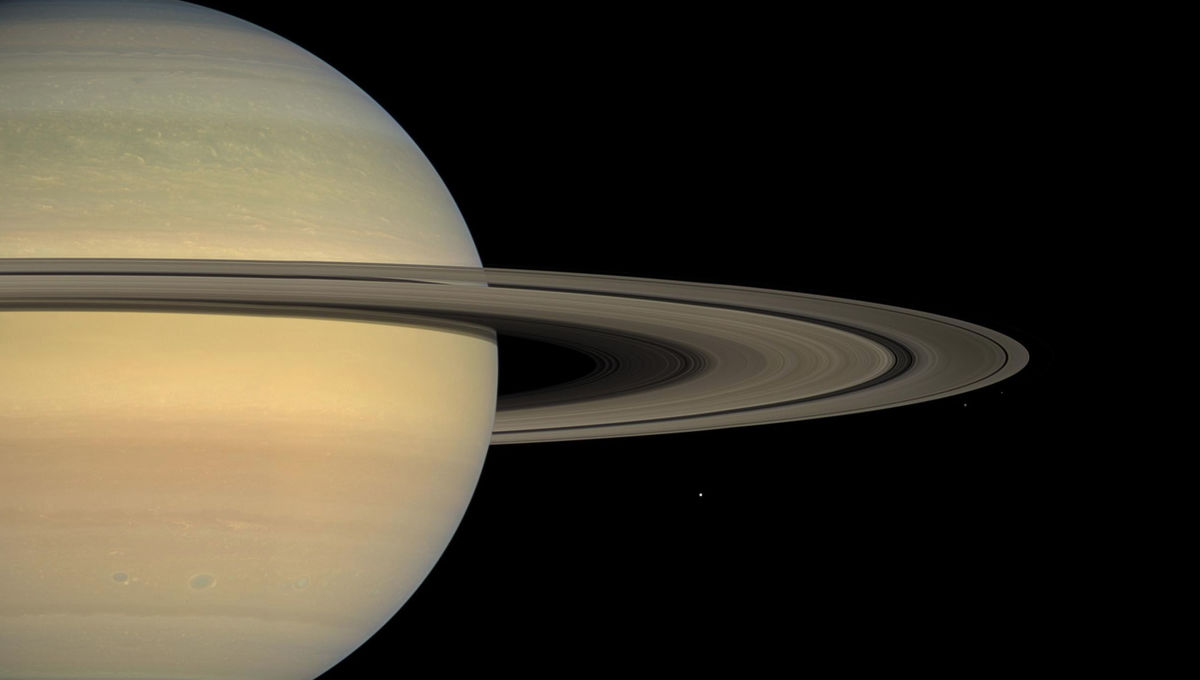 NASA image of Saturn