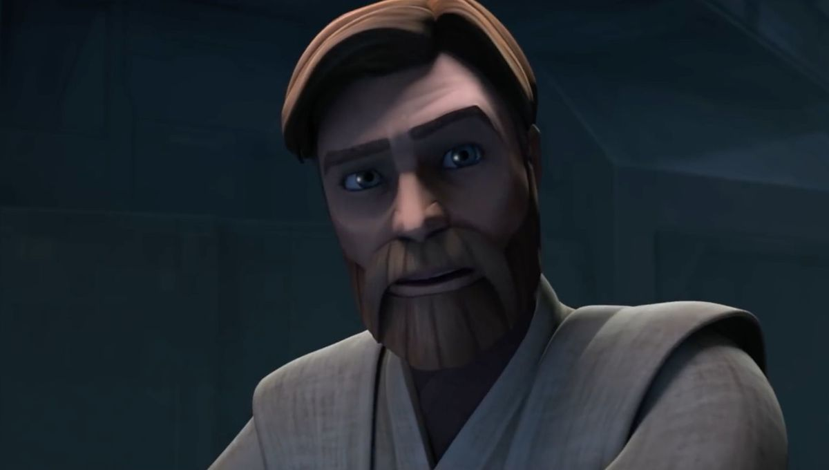 Obi-Wan Kenobi (James Arnold Taylor) on Star Wars: The Clone Wars