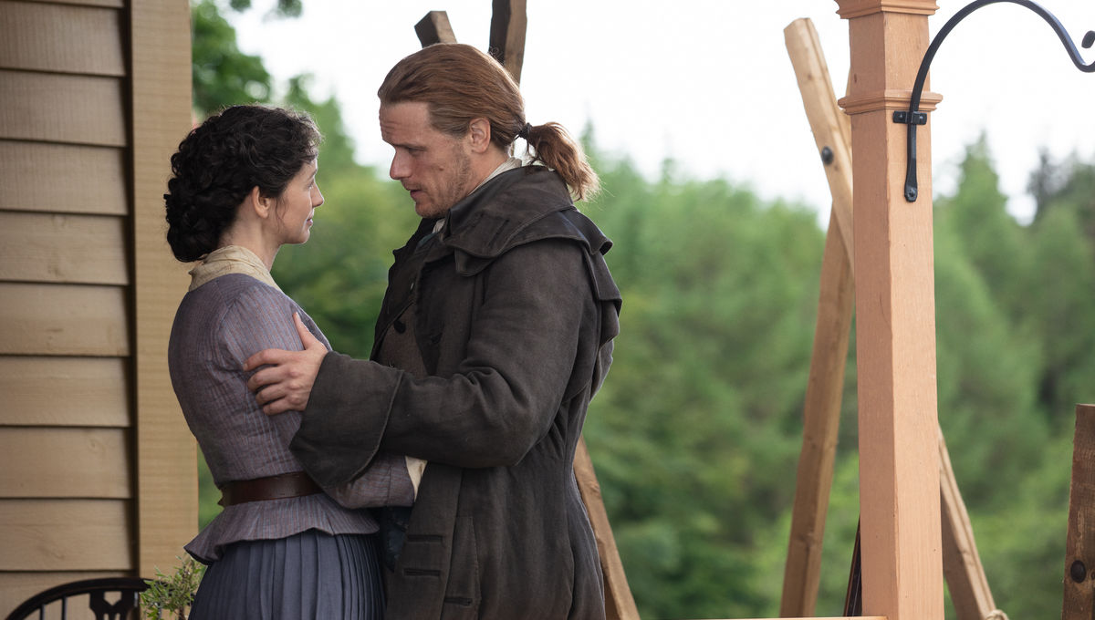 Outlander 505 Jamie and Claire