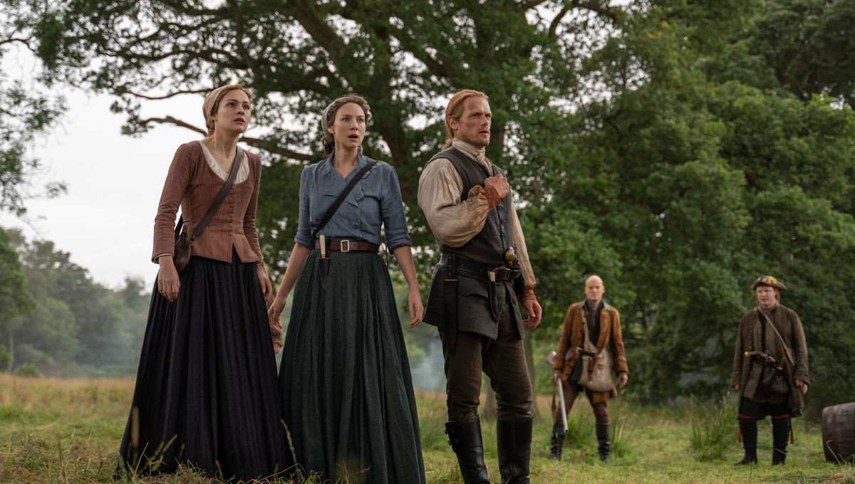 Outlander 507 Brianna Claire Jamie