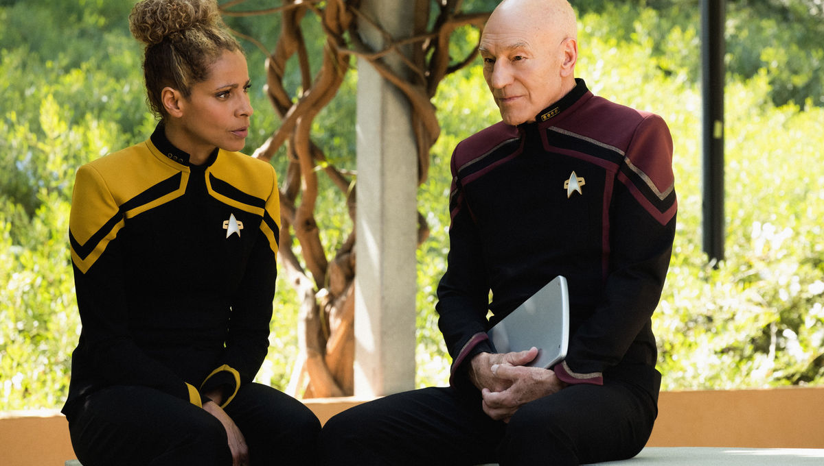 Picard and Raffi in Star Trek: Picard