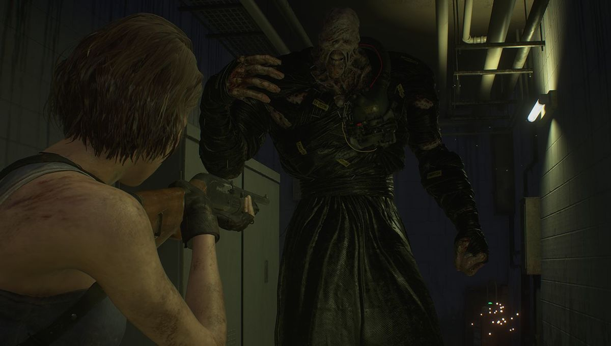 A screen image from Resident Evil 3