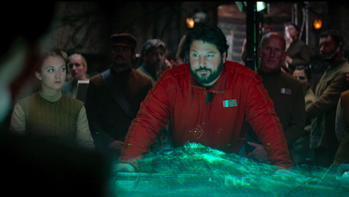 Greg Grunberg as Star Wars X Wing pilot Snap Wexley