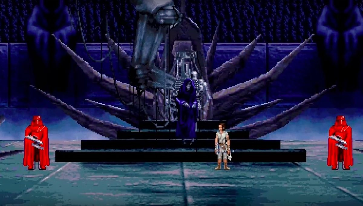 Star Wars The Rise of Skywalker 16 bit
