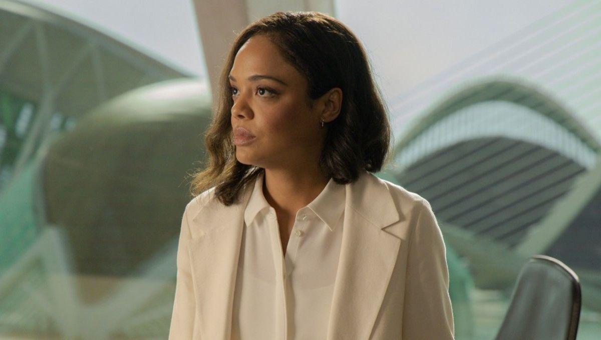Tessa Thompson as Charlotte Hale in Westworld