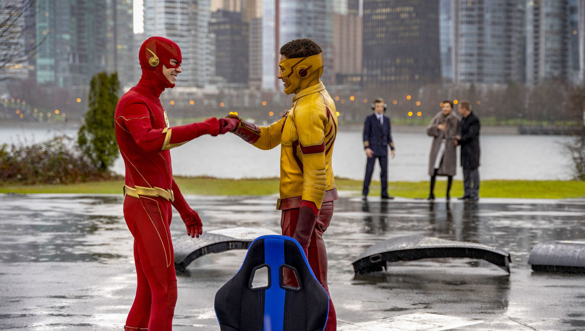 The CW Flash and Kid Flash