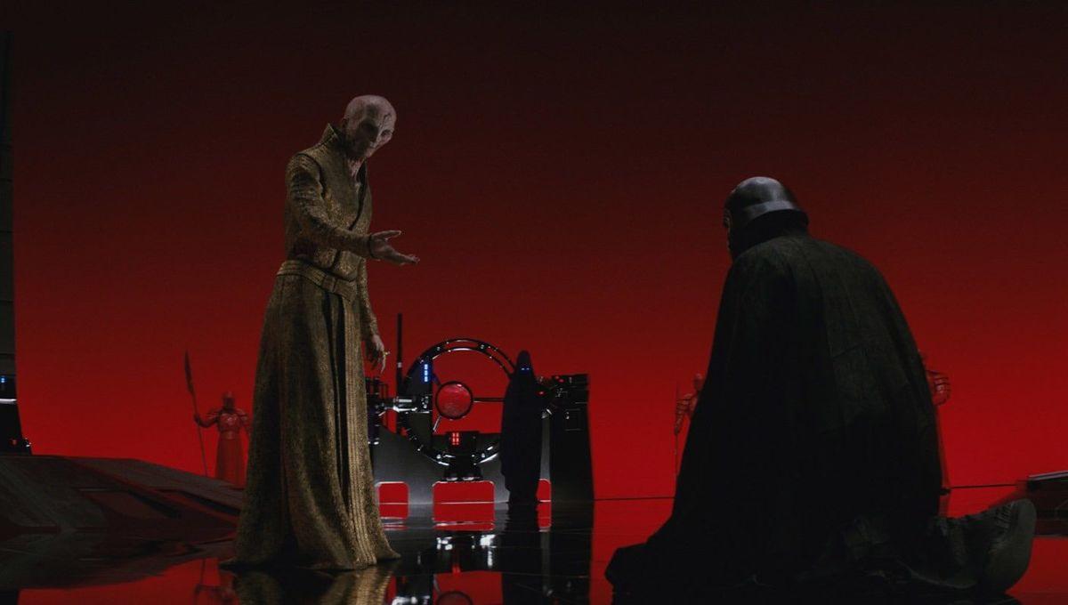 Snoke Star Wars The Last Jedi