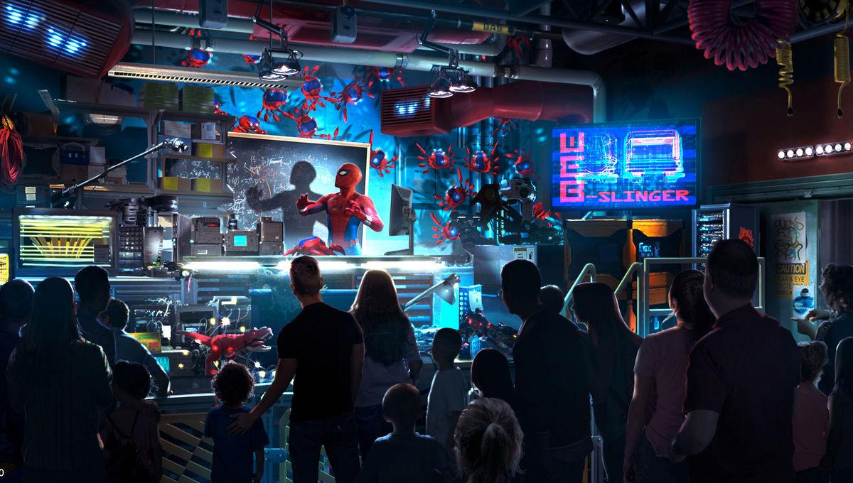 Disneyland Avengers Campus Spider-Man
