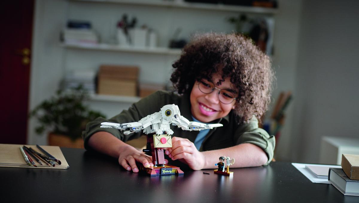 Lego Hedwig Harry Potter set