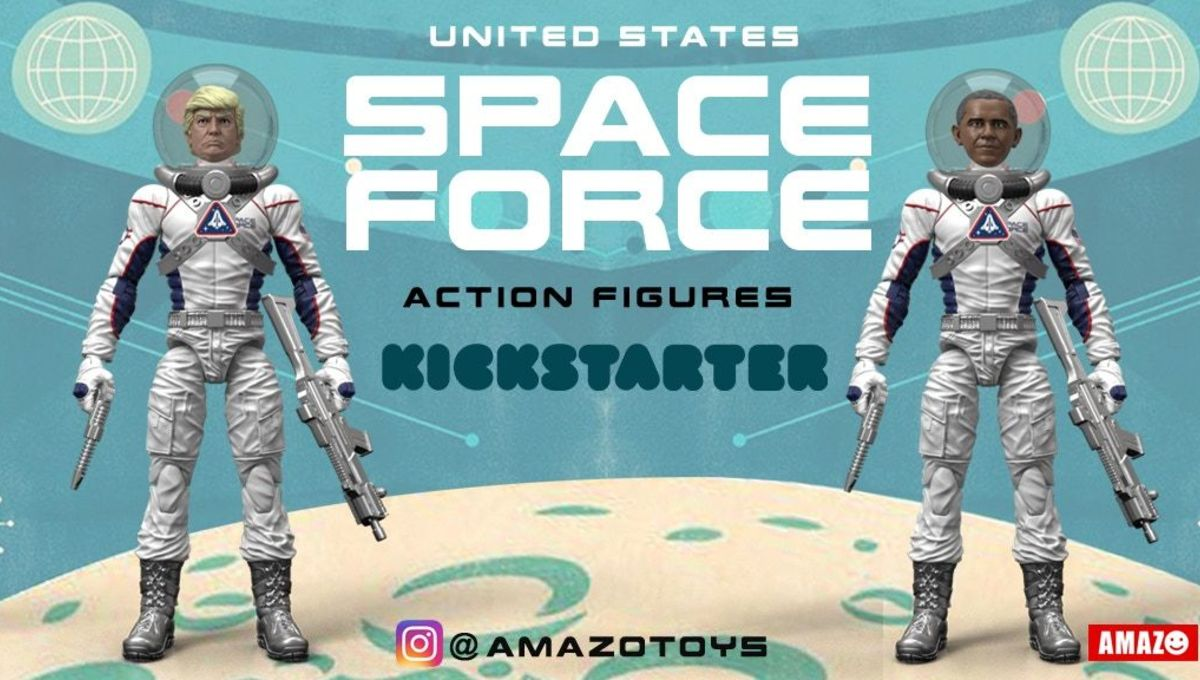 United States Space Force Action Figures