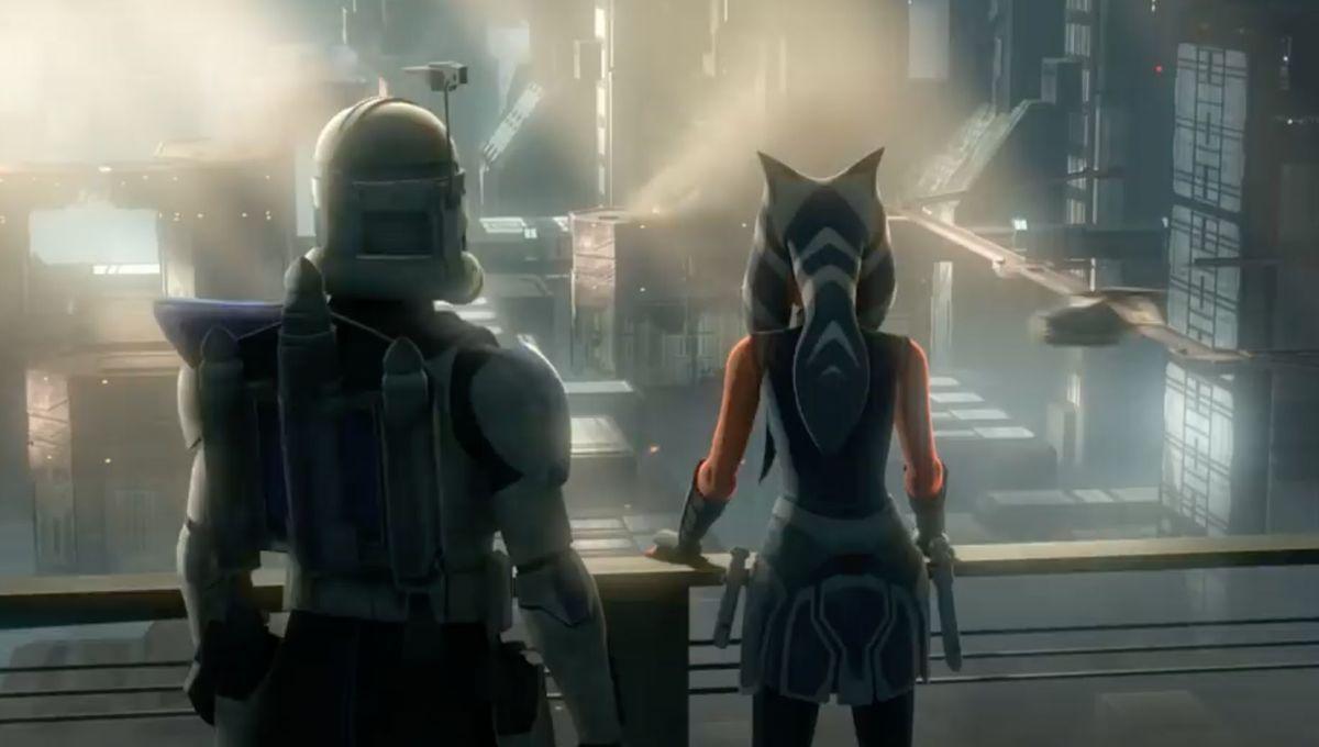 Ahsoka and Rex (Star Wars: The Clone Wars)