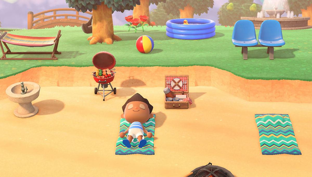 Animal Crossing New Horizons island