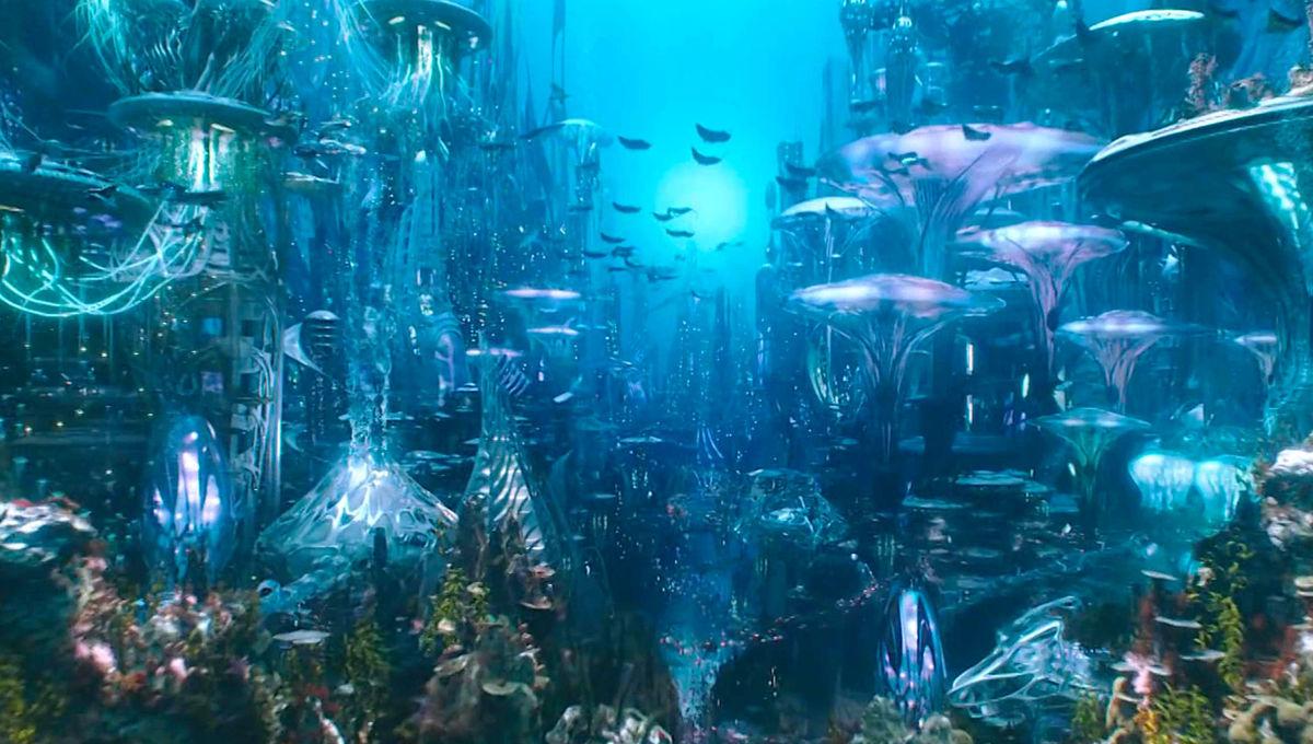 Atlantis in Aquaman